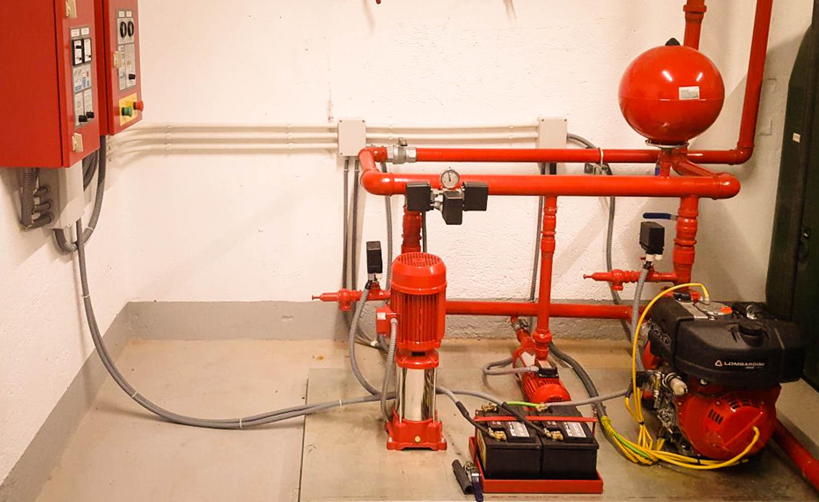 Grupos de presi n en madrid para sistemas contra incendios - Grupo de presion ...